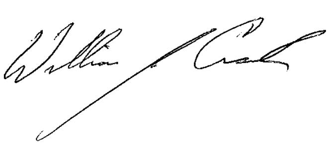 Bill Crank Signiture